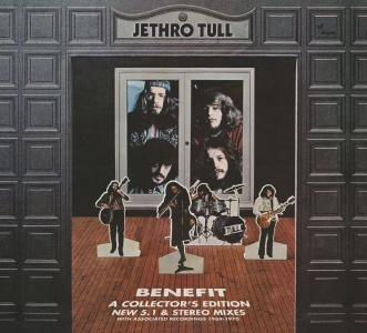 Jetrho Tull - Benefit CD+DVD-Audio 5.1 Deluxe Edition
