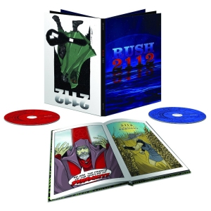 Rush 2112 CD + Blu-ray Disc Audio collectors box set