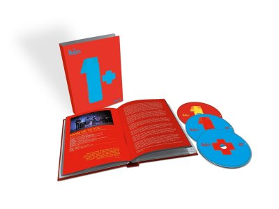 Beatles '1+' 3-disc box set (1 CD + 2 DVDs)
